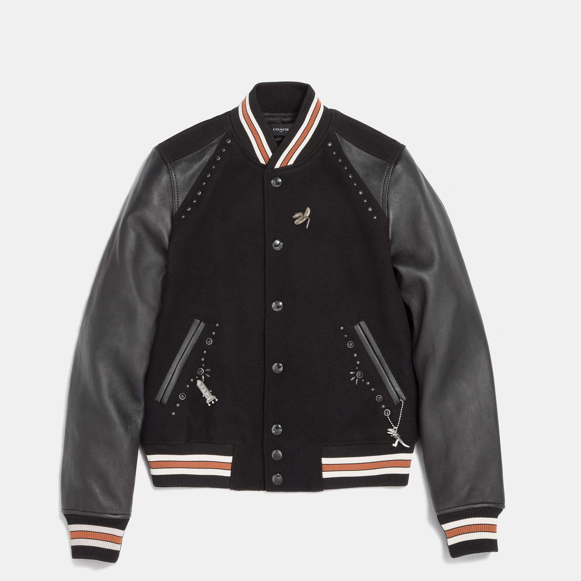 Customize BLANK VARSITY JACKET