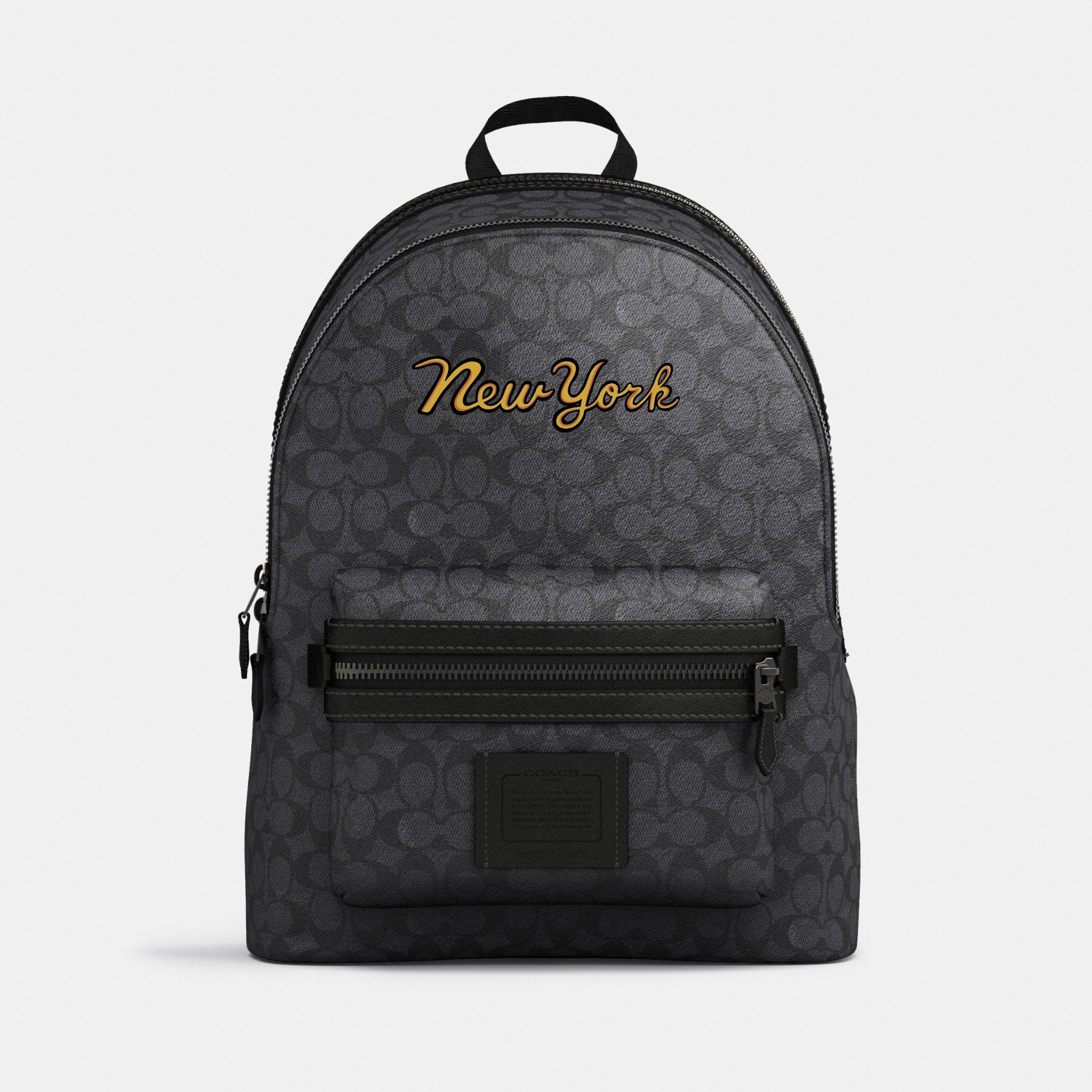 Customize ACADEMY BACKPACK IN SIGNATURE CANVAS