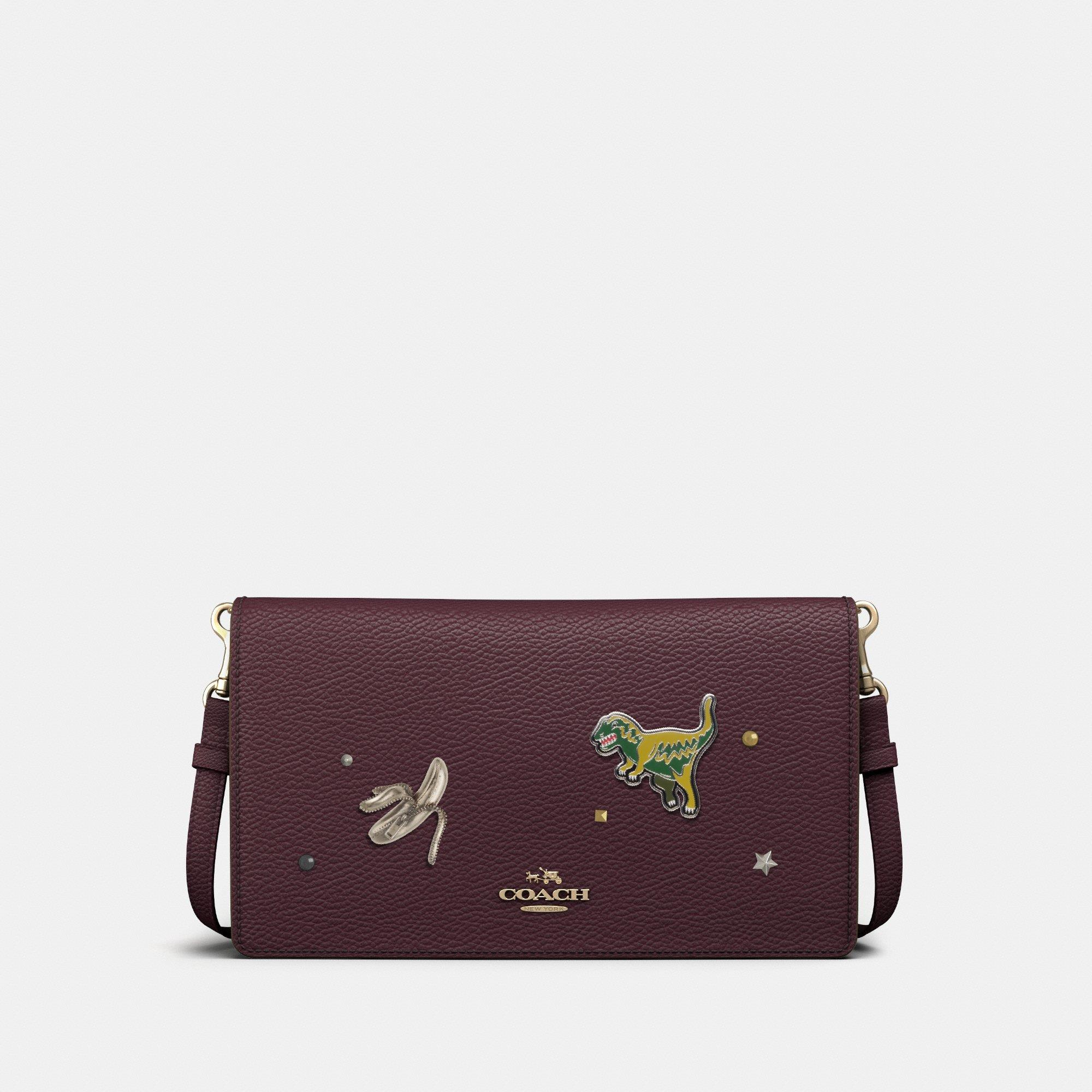 Customize HAYDEN FOLDOVER CROSSBODY CLUTCH